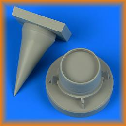 QUICKBOOST 1/32 MiG-21MF Fishbed J correct radome  for TRUMP