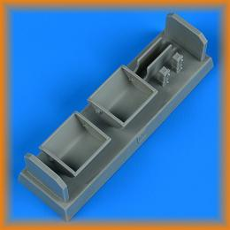 QUICKBOOST 1/32 Bf 109F/G/K seat for metal type