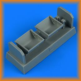 QUICKBOOST 1/32 Bf 109F/G/K seat for wood type