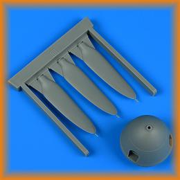 QUICKBOOST 1/32 Bf 109G propeller for HAS