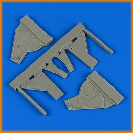 QUICKBOOST 1/48 Sea Fury FB.11 undercarriage covers For AIRF