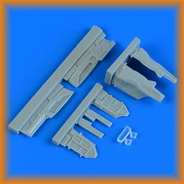QUICKBOOST 1/48 MiG-29 Fulcrum undercarriage covers for ACAD