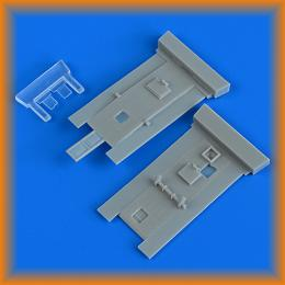 QUICKBOOST 1/48 Bristol Beaufighter cockpits doors for REV