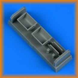 QUICKBOOST 1/48 Bf 109F/G/K seat for metal type