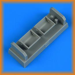 QUICKBOOST 1/48 Bf 109F/G/K seat for wood type