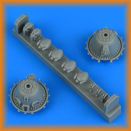QUICKBOOST 1/48 A-26 Invader propeller reduction casing for ICM