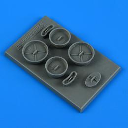 QUICKBOOST 1/48 C-2 Greyhound FOD covers for KIN