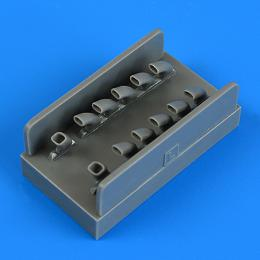 QUICKBOOST 1/48 IL-2 exhaust for ZVE