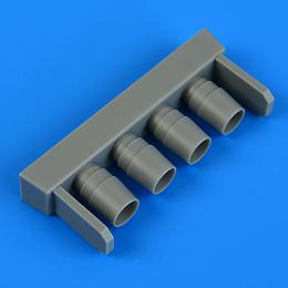 QUICKBOOST 1/48 IA 58 Pucará exhaust for KIN
