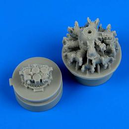 QUICKBOOST 1/72 F4F-4 Wildcat engine for AIRFIX