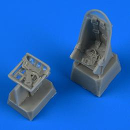 QUICKBOOST 1/72 Ju 87 Stuka seats with safety belts for ZVE/ACA