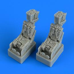 QUICKBOOST 1/72 F-14A Tomcat eject.seats w/ saf.belts for FUJI