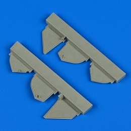 QUICKBOOST 1/72 Defiant Mk.I undercarriage covers for AIRFIX