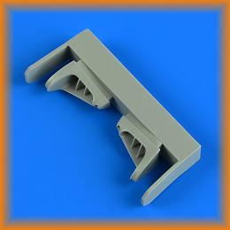QUICKBOOST 1/72 Vampire T.11 air intake for AIRFIX