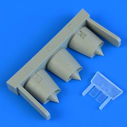 QUICKBOOST 1/72 Mirage F.1 air intakes for SP.HOBBY