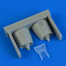 QUICKBOOST 1/72 Mirage F.1B air intakes for SP.HOBBY