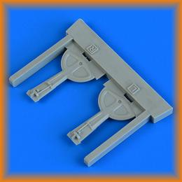 QUICKBOOST 1/72 Bf 109G-6 undercarriage covers (TAM)