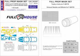 Q-M-T 1/32 Full House Canopy Mask  Set F-4E/F/G Phantom II for REV