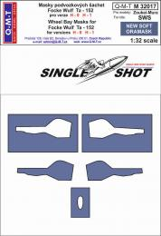 Q-M-T 1/32 Canopy Mask  Ta- 152 H0, H 1 for SWS