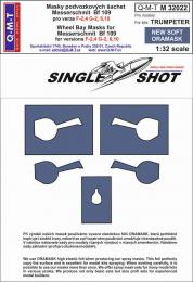 Q-M-T 1/32 Canopy Mask  Bf 109 F-4, G-2,6,10 for TRU