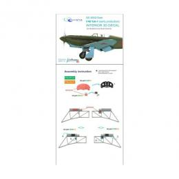 QUINTA STUDIO 1/48 Yak-1 for early 3D-Print&colour - DASHBOARD