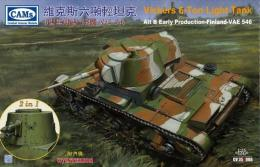 RIICH 1/35 Vickers 6-ton Light Tank ALT B Early Production Finland-VAE546