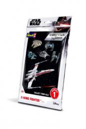 REVELL Star Wars 1/112  XWing Fighter Easy click Systém