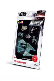 REVELL Star Wars 1/90/ Tie Interceptor Easyclicj