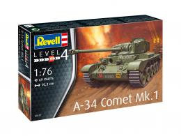 REVELL 1/72 A-34 Comet Mk.1