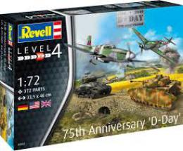 REVELL 1/72 75th D-DAY Anniversary Set
