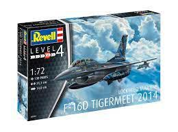 REVELL 1/72 F-16D Fighting Falcon