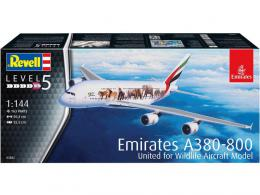REVELL 1/144 Airbus A380-800 Emirates