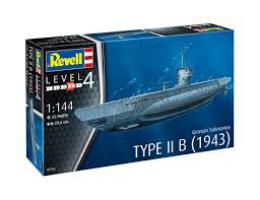 REVELL 1/144 German Submarine Type IIB 1943