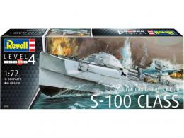 REVELL 1/72 German Fast Attack Craft S-100 Class