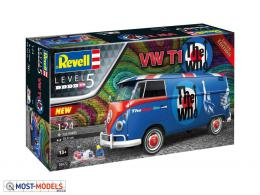 """REVELL 1/24 VW T1 Bus The Who"""" Gift Set"""