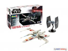 REVELL 1/65 Collector Set X-Wing Fighter & TIE Fighter GIFT Set
