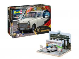 REVELL 1/24 Trabant 601S Fall of the Berlin Wall 30th Anniv