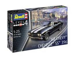 REVELL 1/25 1968 Chevy Chevelle