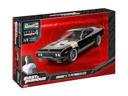 REVELL 1/25 Fast & Furious Dominics 1971 Plymouth GTX