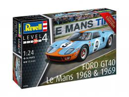 REVELL 1/32 Ford GT 40 Le Mans 1968