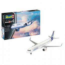 REVELL 1/144 Airbus A321 Neo Aircraft Starter Set
