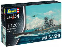 REVELL 1/1200 Model Set Musashi