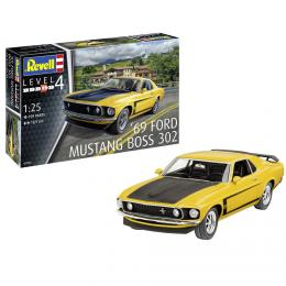 REVELL 1/25 Model Set 1969 Boss 302 Mustang