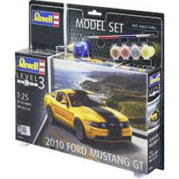 REVELL 1/25 2010 Ford Mustang G Model Set