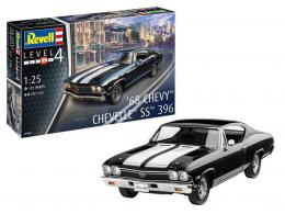 REVELL 1/25 Model Set 1968 Chevy Chevelle