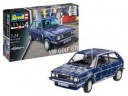 REVELL 1/24 Model Set VW Golf Gti Builders Choice