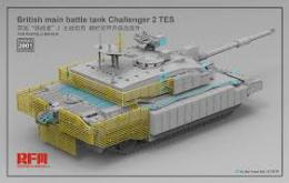RYE FIELD 1/35 The upgrade solution for RM-5039 Challenger 2 TES