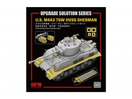 RYE FIELD MODEL 1/35 Upgrade Solution for U.S. M4A3 76W HVSS Sherman for RM-5028/RM-5042