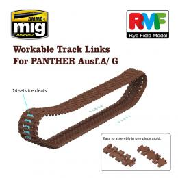RYE FIELD 1/35 Panther A/G Workable Tracks
