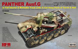 RYE FIELD MODEL 1/35 Panter G w/Interior Cutaway